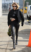 Model Gigi Hadid is seen walking in Brooklyn on February 10 2016 in New York City