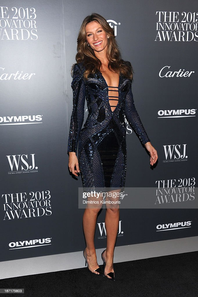 Model Gisele Bündchen attends the WSJ. Magazine's 'Innovator Of The Year' Awards 2013 at The Museum of Modern Art on November 6, 2013 in New York City.