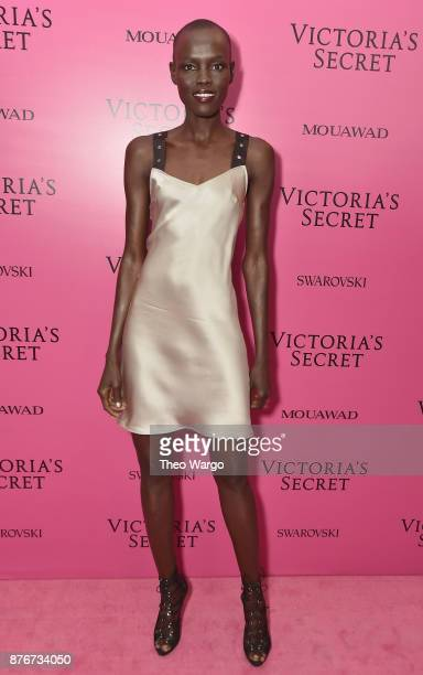 Model Grace Bol attends the 2017 Victoria's Secret Fashion Show In Shanghai After Party at MercedesBenz Arena on November 20 2017 in Shanghai China