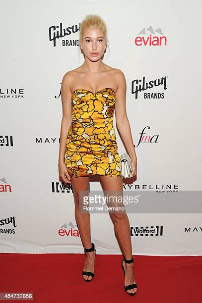Model Hailey Baldwain attends The Daily Front Row Second Annual Fashion Media Awards at Park Hyatt New York on September 5 2014 in New York City