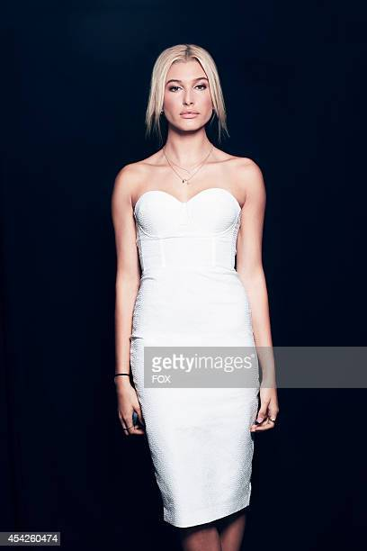 Model Hailey Baldwin is photographed at the Fox 2014 Teen Choice Awards at The Shrine Auditorium on August 10 2014 in Los Angeles California