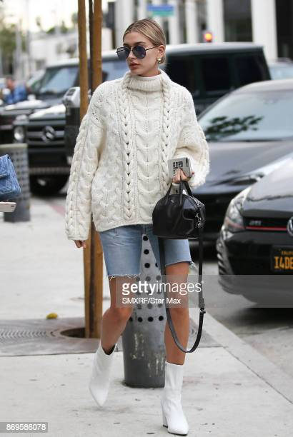 Model Hailey Baldwin is seen on November 2 2017 in Los Angeles CA
