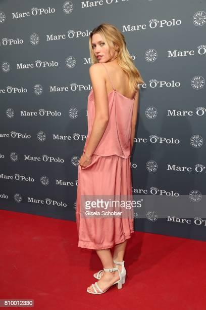 Model Hana Jirickova during the 50th anniversary celebration of Marc O'Polo at its headquarters on July 6 2017 in Stephanskirchen near Rosenheim...