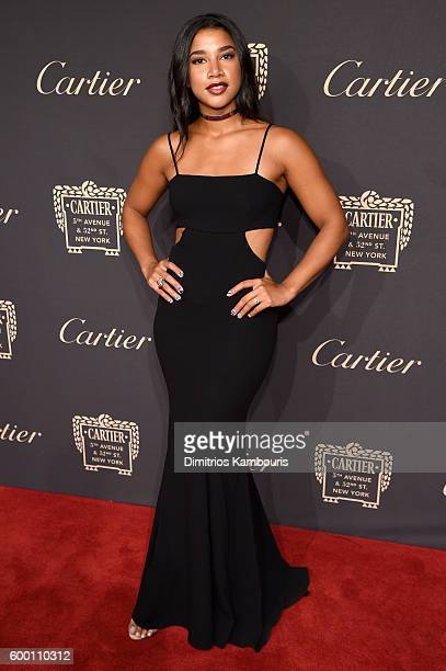 Model Hannah Bronfman attends the Cartier Fifth Avenue Grand Reopening Event at the Cartier Mansion on September 7 2016 in New York City