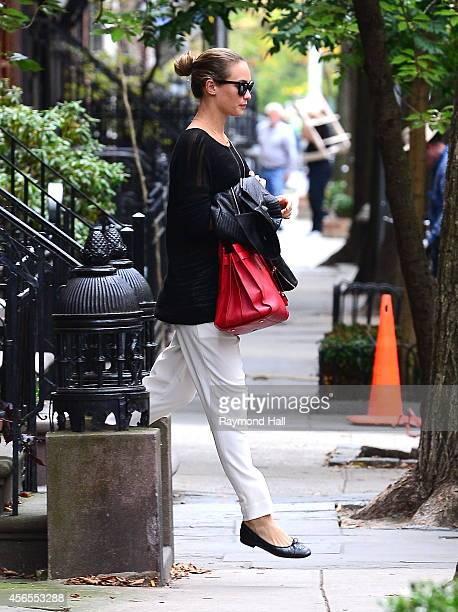 Model Hannah Davis is seen in Soho on October 2 2014 in New York City