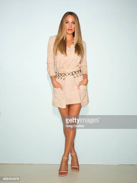 Model Hannah Davis poses for Self Assignment on July 20 in New York City Credit must include StylistJeff Kim HairLinh Nguyen and MakeupScott Patric
