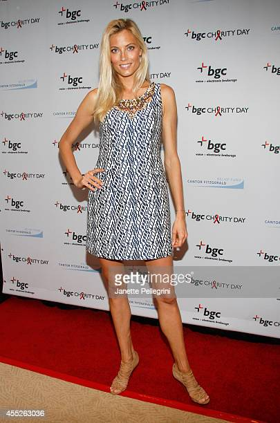 Model Hannah Ferguson attends Annual Charity Day Hosted By Cantor Fitzgerald And BGC at BGC Partners INC on September 11 2014 in New York City