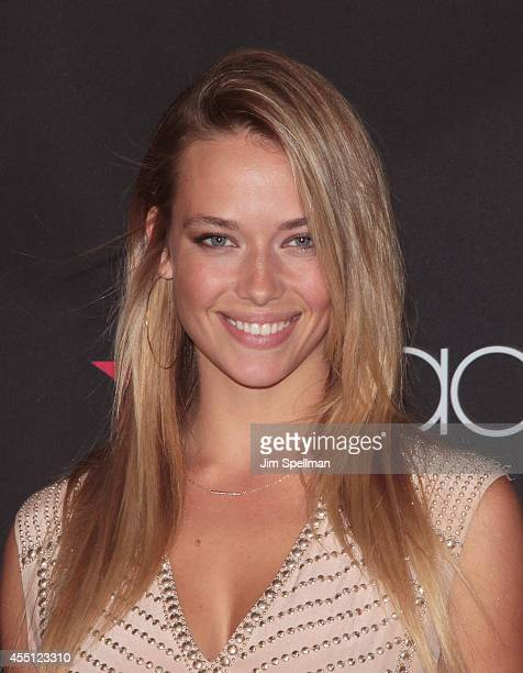 Model Hannah Ferguson attends Fashion Rocks 2014 at Barclays Center on September 9 2014 in the Brooklyn borough of New York City
