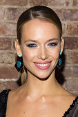 Model Hannah Ferguson attends the 2015 Sports Illustrated Swimsuit Issue celebration at Marquee on February 10 2015 in New York City