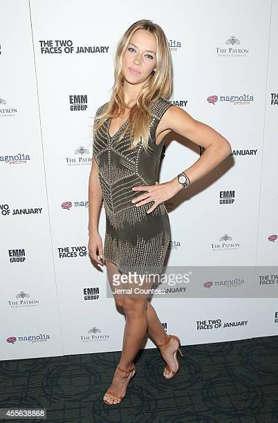 Model Hannah Ferguson attends 'The Two Faces Of January' New York Premiere at Landmark's Sunshine Cinema on September 17 2014 in New York City