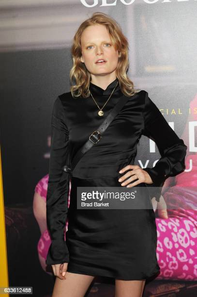 Model Hanne Gaby Odiele attends as National Geographic hosts the world premiere screening of 'Gender Revolution A Journey With Katie Couric' on...