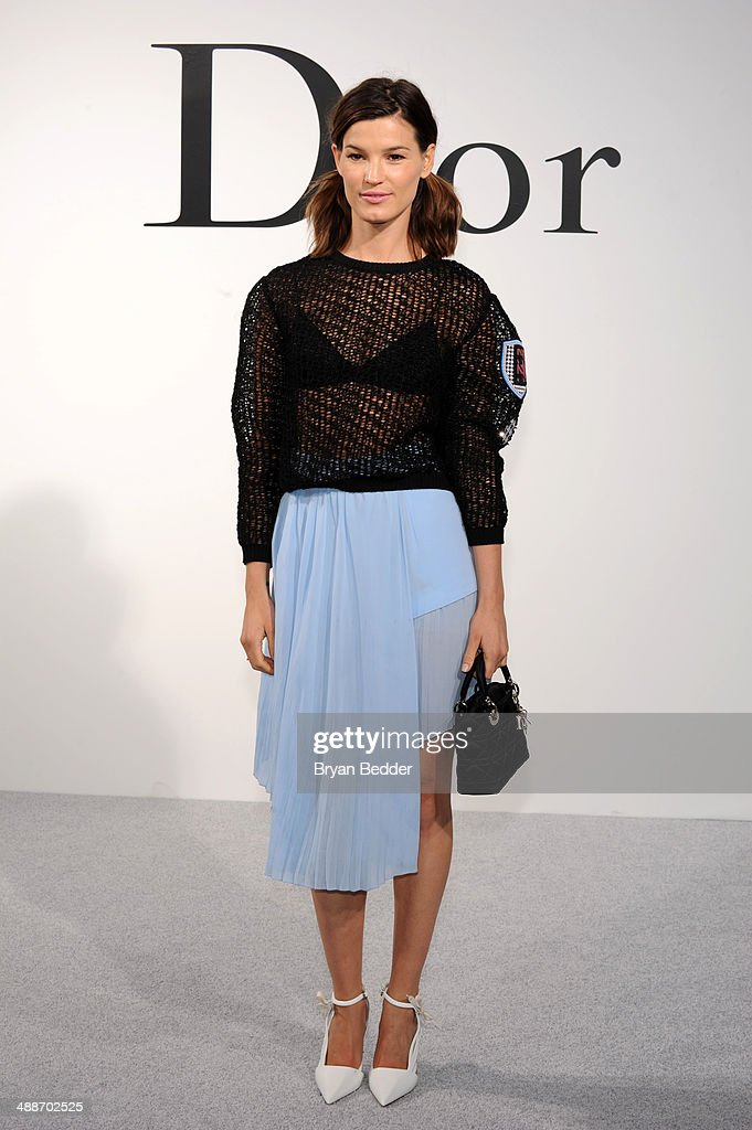 Model <a gi-track='captionPersonalityLinkClicked' href=/galleries/search?phrase=Hanneli+Mustaparta&family=editorial&specificpeople=6740316 ng-click='$event.stopPropagation()'>Hanneli Mustaparta</a> attends the Christian Dior Cruise 2015 Show on May 7, 2014 in Brooklyn, New York City.