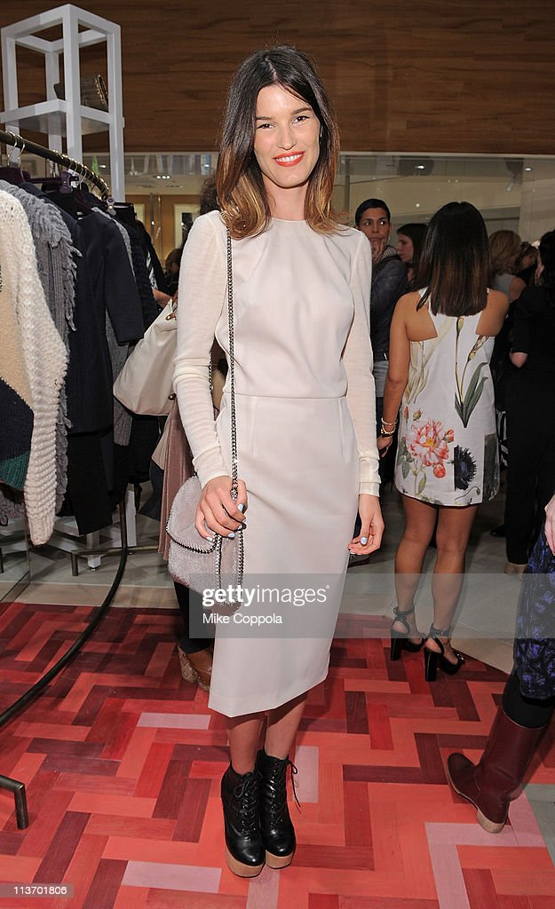 Model Hanneli Mustaparta attends the launch of the new Stella McCartney boutique at Saks Fifth Avenue on May 4, 2011 in New York City.