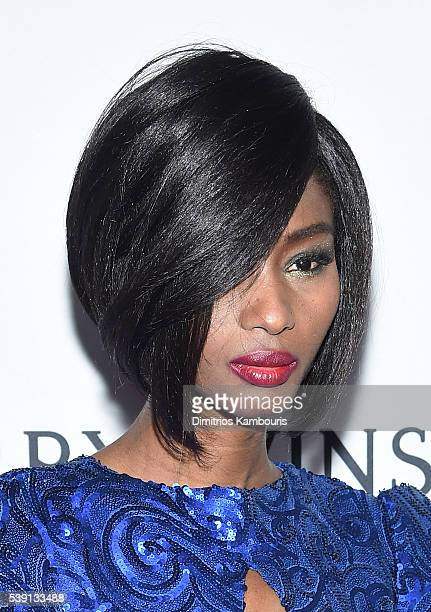 Model Hawa Diawara attends the 7th Annual amfAR Inspiration Gala at Skylight at Moynihan Station on June 9 2016 in New York City