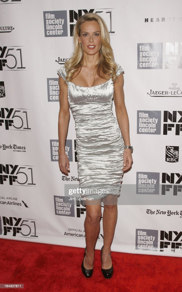 Model Heidi Albertsen attends the Closing Night Gala Presentation Of 'Her' during the 51st New York Film Festival at Alice Tully Hall at Lincoln Center on October 12, 2013 in New York City.