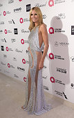 Model Heidi Klum attends the 23rd Annual Elton John AIDS Foundation Academy Awards viewing party with Chopard on February 22 2015 in Los Angeles...