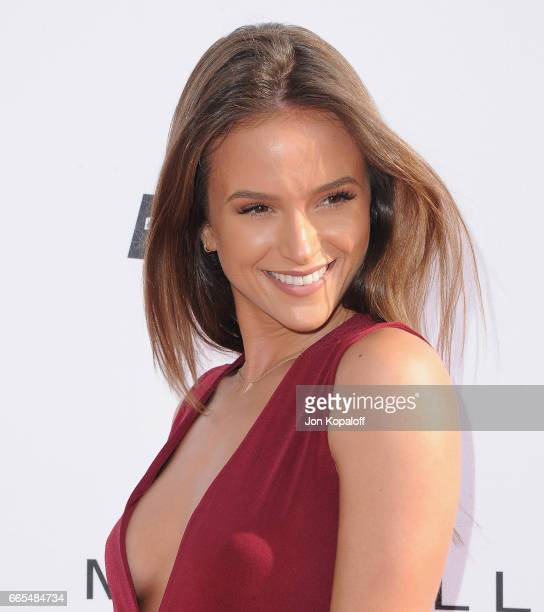 Model Helen Owen arrives at the Daily Front Row's 3rd Annual Fashion Los Angeles Awards at the Sunset Tower Hotel on April 2 2017 in West Hollywood...