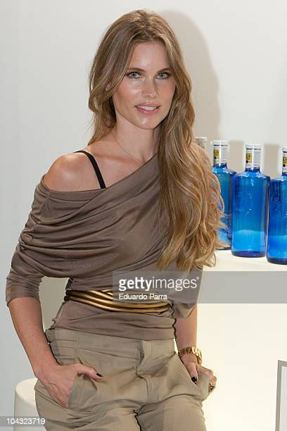 Model Helen Swedin attends Cibeles Madrid Fashion Week S/S 2011 at Ifema on September 21 2010 in Madrid Spain