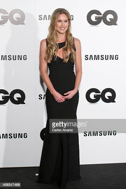 Model Helen Swedin attends the GQ 2014 Men of the Year awards at the Palace Hotel on November 3 2014 in Madrid Spain