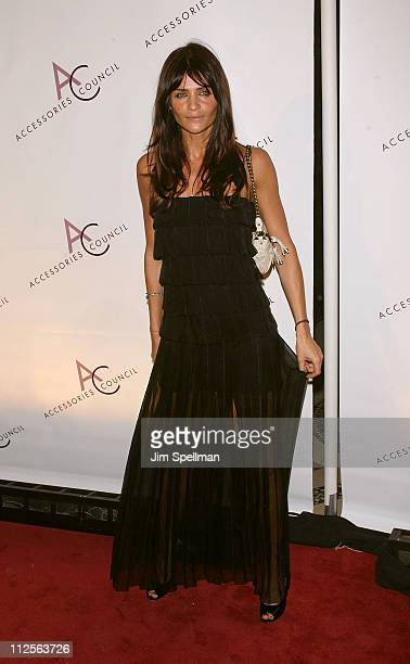 Model Helena Christensen arrives at 11th Annual ACE Awards at Cipriani 42nd St on November 5 2007 in New York City