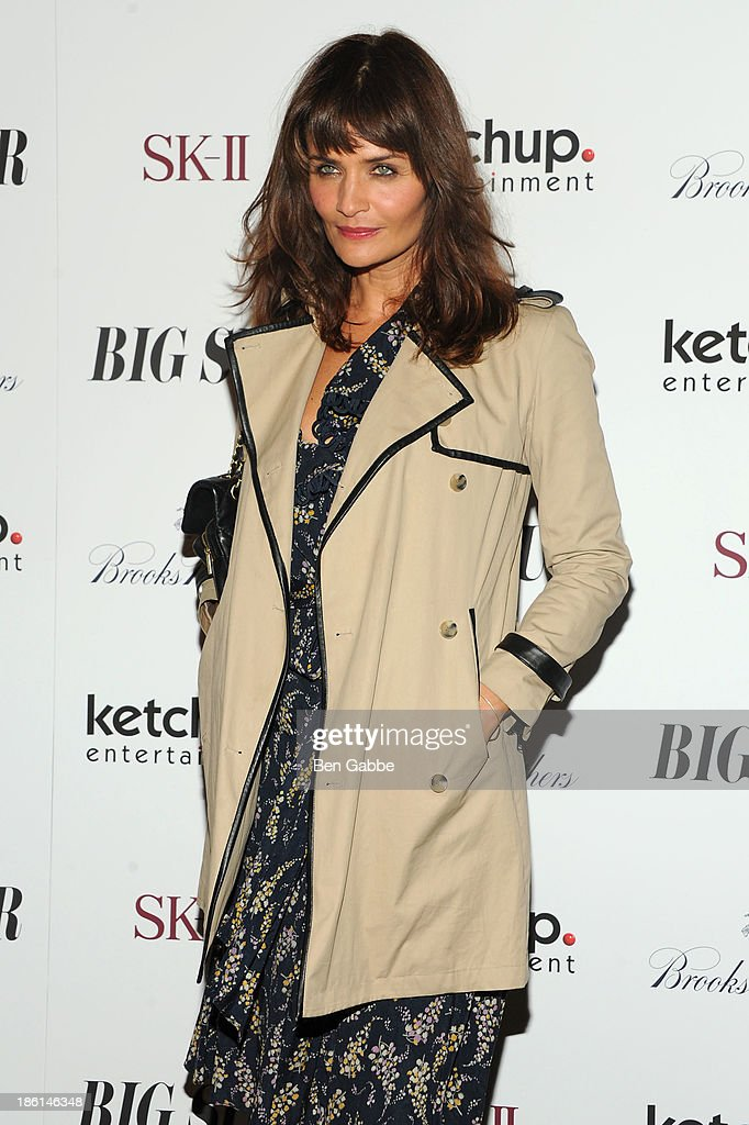 Model <a gi-track='captionPersonalityLinkClicked' href=/galleries/search?phrase=Helena+Christensen&family=editorial&specificpeople=202841 ng-click='$event.stopPropagation()'>Helena Christensen</a> attends the 'Big Sur' premiere at Sunshine Landmark on October 28, 2013 in New York City.