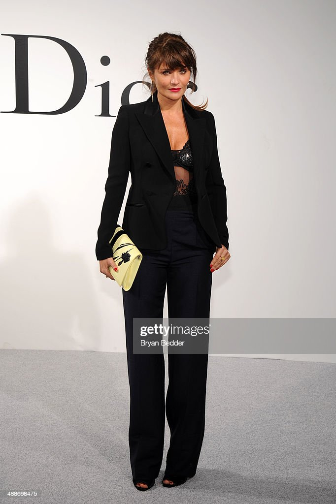 Model <a gi-track='captionPersonalityLinkClicked' href=/galleries/search?phrase=Helena+Christensen&family=editorial&specificpeople=202841 ng-click='$event.stopPropagation()'>Helena Christensen</a> attends the Christian Dior Cruise 2015 Show on May 7, 2014 in Brooklyn, New York City.