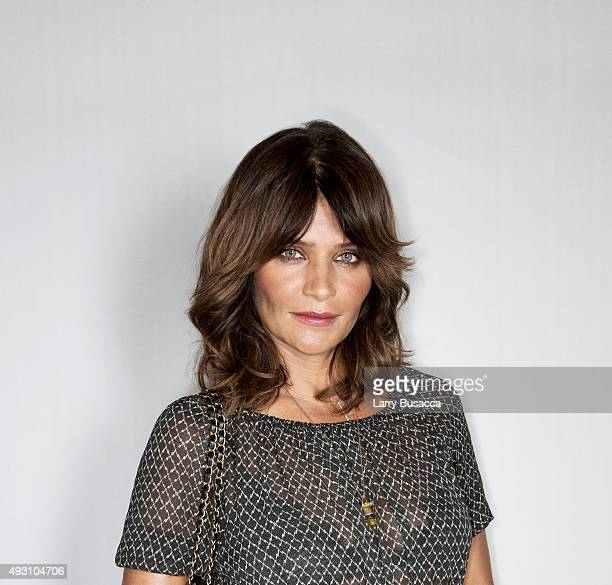 Model Helena Christensen attends The Daily Front Row's Third Annual Fashion Media Awards at the Park Hyatt New York on September 10 2015 in New York...