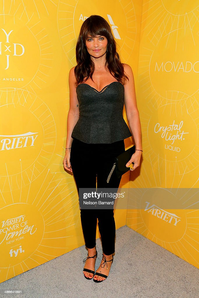 Model <a gi-track='captionPersonalityLinkClicked' href=/galleries/search?phrase=Helena+Christensen&family=editorial&specificpeople=202841 ng-click='$event.stopPropagation()'>Helena Christensen</a> attends Variety Power Of Women: New York presented by FYI at Cipriani 42nd Street on April 25, 2014 in New York City.
