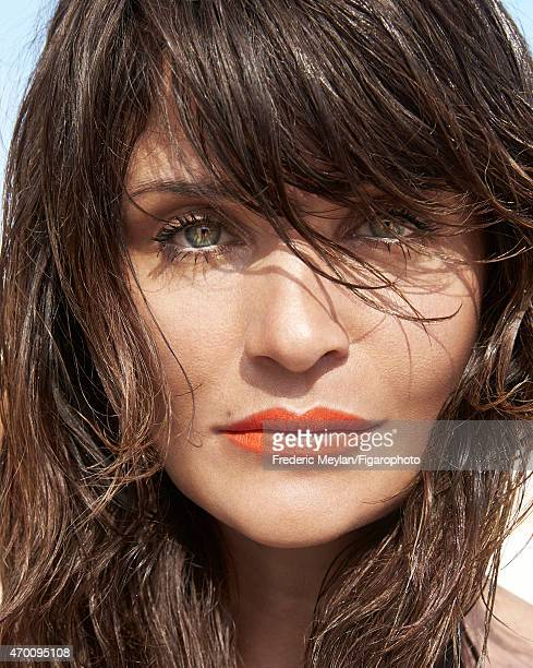 Model Helena Christensen is photographed for Madame Figaro on March 20 2015 in Guadeloupe Saint Martin Beauty by Dior PUBLISHED IMAGE CREDIT MUST...