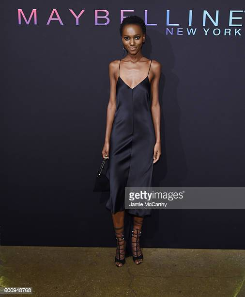 Model Herieth Paul attends the Maybelline New York NYFW KickOff Party on September 8 2016 in New York City