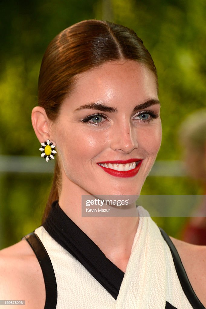 Model Hilary Rhoda attends 2013 CFDA Fashion Awards at Alice Tully Hall on June 3, 2013 in New York City.
