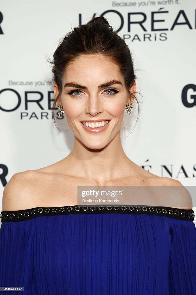 Model Hilary Rhoda attends 2015 Glamour Women Of The Year Awards at Carnegie Hall on November 9 2015 in New York City