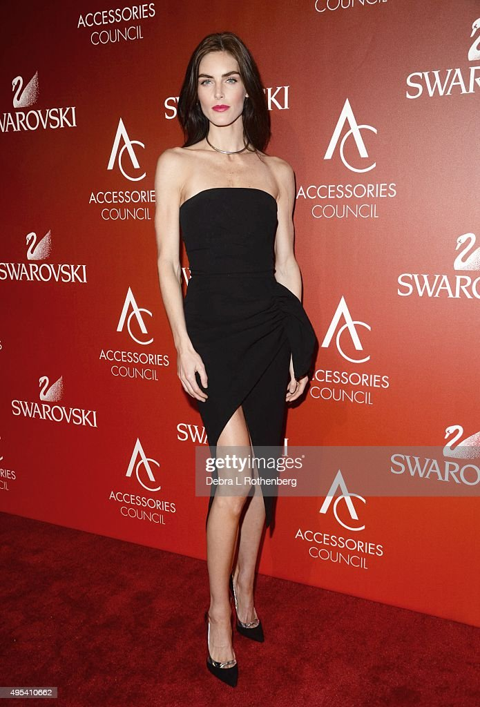 Model <a gi-track='captionPersonalityLinkClicked' href=/galleries/search?phrase=Hilary+Rhoda&family=editorial&specificpeople=637945 ng-click='$event.stopPropagation()'>Hilary Rhoda</a> attends the 19th Annual Accessories Council ACE Awards at Cipriani Wall Street on November 2, 2015 in New York City.