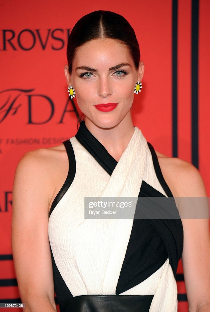 Model Hilary Rhoda attends the 2013 CFDA Fashion Awards on June 3, 2013 in New York, United States.