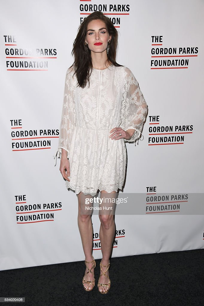 Model <a gi-track='captionPersonalityLinkClicked' href=/galleries/search?phrase=Hilary+Rhoda&family=editorial&specificpeople=637945 ng-click='$event.stopPropagation()'>Hilary Rhoda</a> attends the 2016 Gordon Parks Foundation awards dinner at Cipriani 42nd Street on May 24, 2016 in New York City.