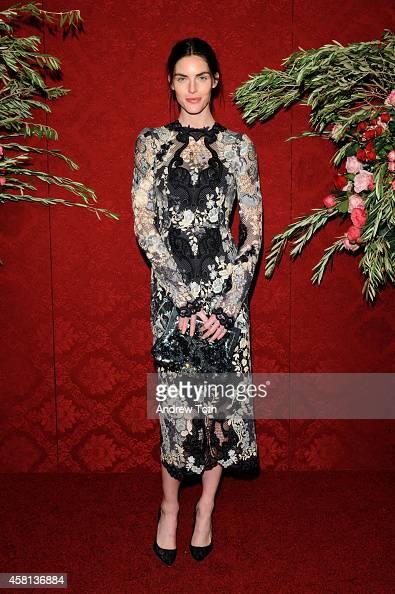 Model Hilary Rhoda attends the 20th Annual Artwalk NY at Metropolitan Pavilion on October 30 2014 in New York City