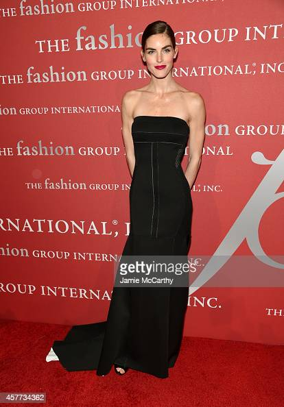 Model Hilary Rhoda attends the 31st Annual FGI Night of Stars event at Cipriani Wall Street on October 23 2014 in New York City