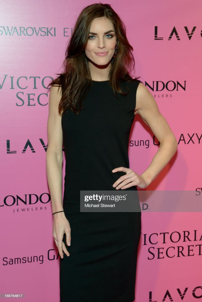 Model Hilary Rhoda attends the after party for the 2012 Victoria's Secret Fashion Show at Lavo NYC on November 7, 2012 in New York City.