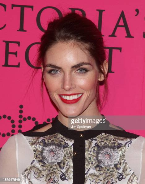Model Hilary Rhoda attends the after party for the 2013 Victoria's Secret Fashion Show at TAO Downtown on November 13 2013 in New York City