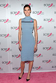 Model Hilary Rhoda attends The Breast Cancer Research Foundation's Symposium Awards Luncheon at The Waldorf Astoria on October 9 2014 in New York City