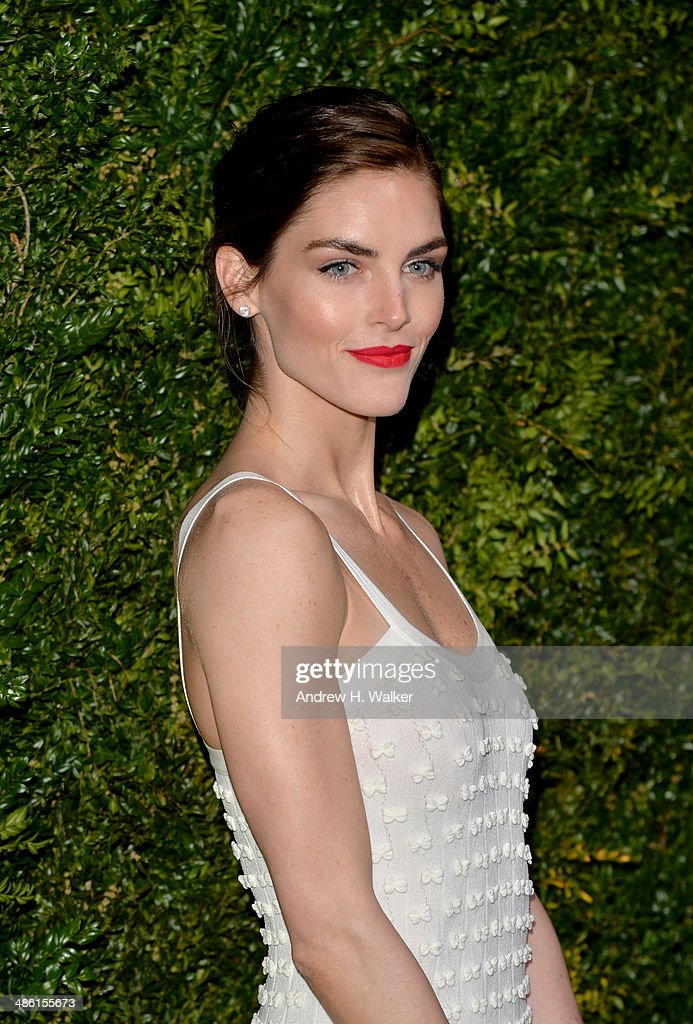 Model <a gi-track='captionPersonalityLinkClicked' href=/galleries/search?phrase=Hilary+Rhoda&family=editorial&specificpeople=637945 ng-click='$event.stopPropagation()'>Hilary Rhoda</a> attends the Chanel Tribeca Film Festival Artist Dinner during the 2014 Tribeca Film Festival at Balthazar on April 22, 2014 in New York City.
