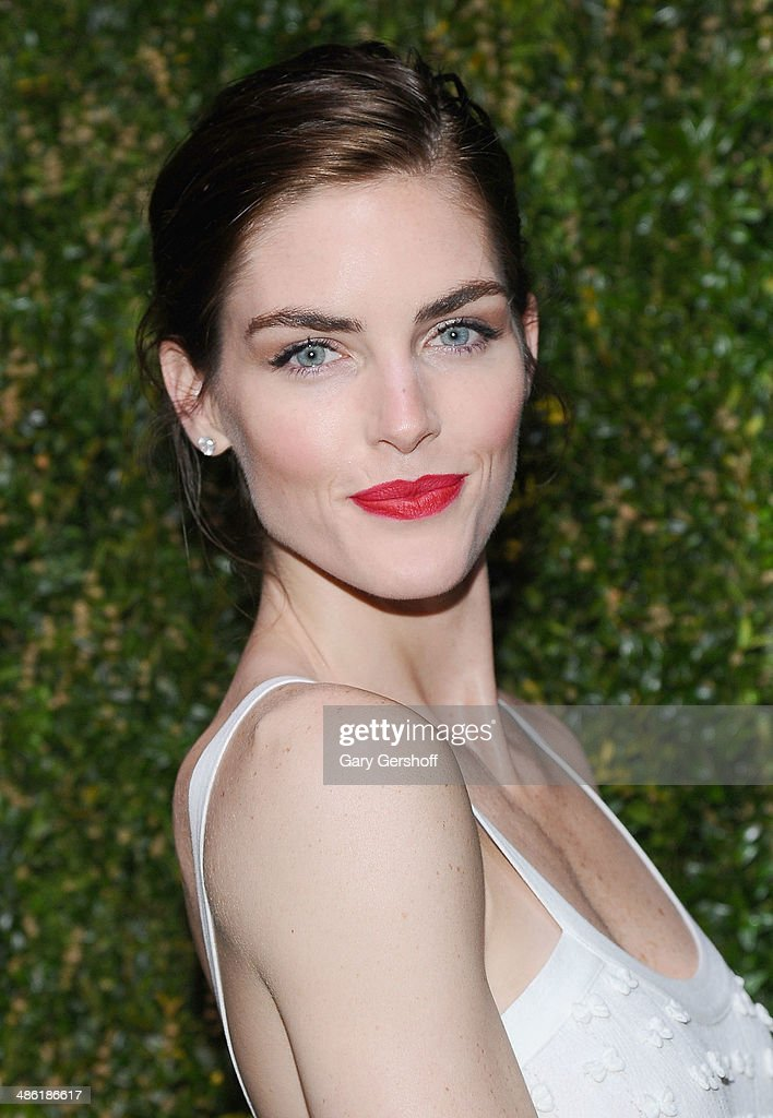 Model <a gi-track='captionPersonalityLinkClicked' href=/galleries/search?phrase=Hilary+Rhoda&family=editorial&specificpeople=637945 ng-click='$event.stopPropagation()'>Hilary Rhoda</a> attends the Chanel Tribeca Film Festival Artist Dinner at Balthazer on April 22, 2014 in New York City.