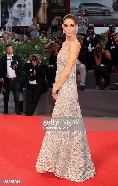 Model Hilary Rhoda attends the premiere of 'Spotlight' during the 72nd Venice Film Festival on September 3 2015 in Venice Italy