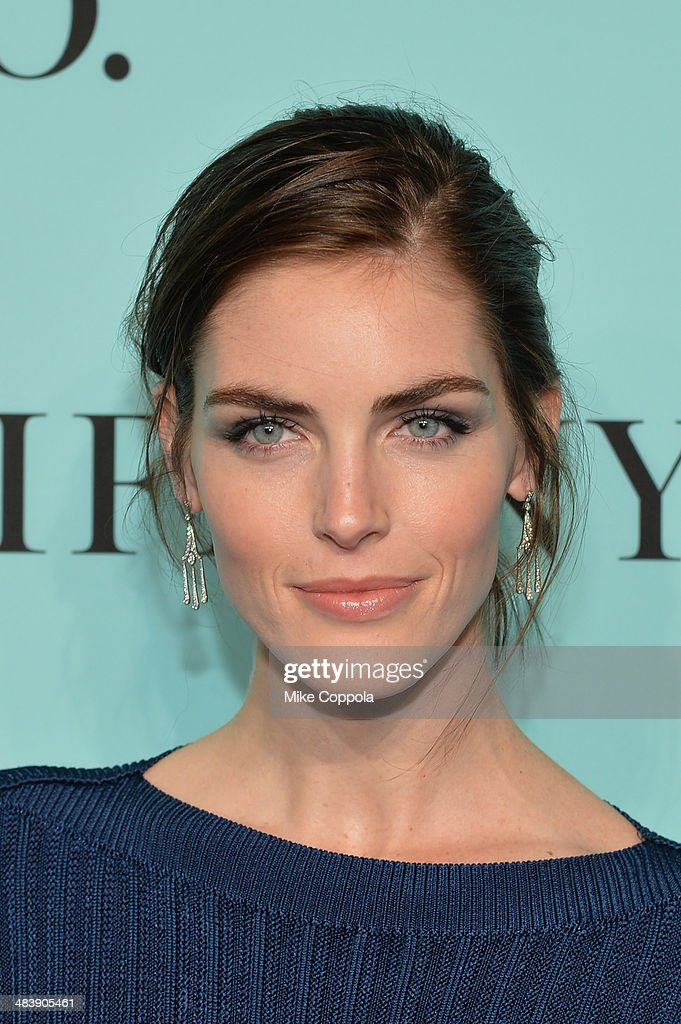 Model <a gi-track='captionPersonalityLinkClicked' href=/galleries/search?phrase=Hilary+Rhoda&family=editorial&specificpeople=637945 ng-click='$event.stopPropagation()'>Hilary Rhoda</a> attends the Tiffany Debut of the 2014 Blue Book on April 10, 2014 at the Guggenheim Museum in New York, United States.