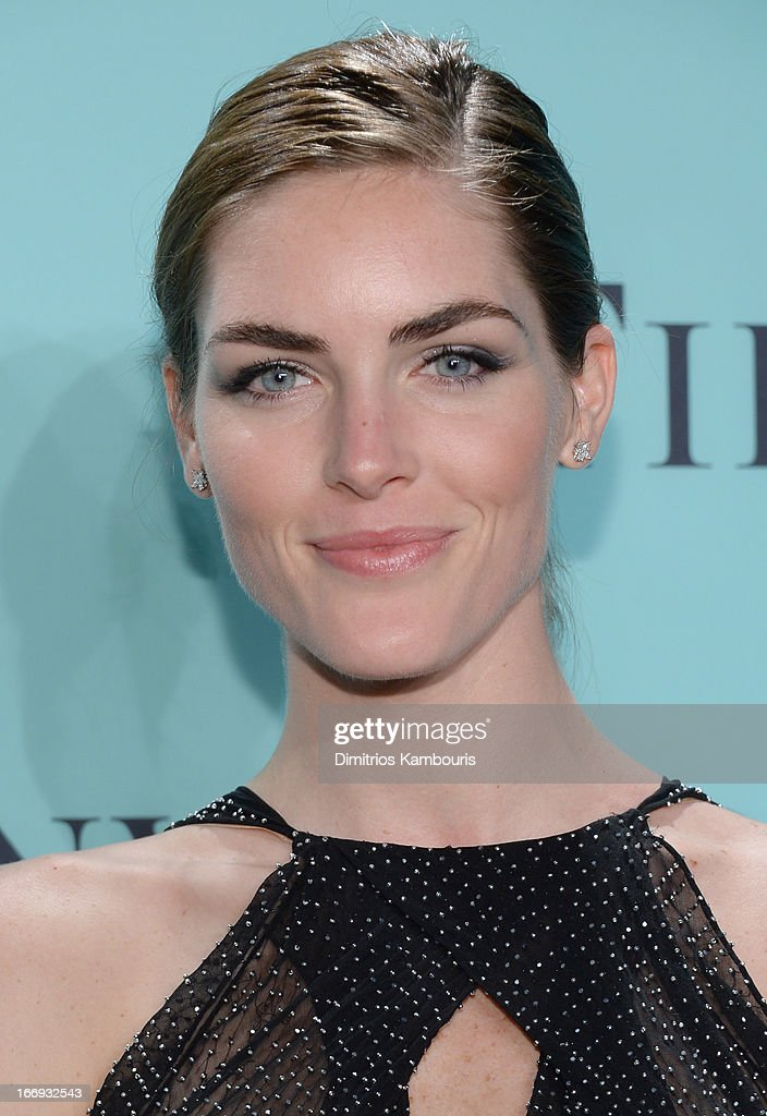 Model Hilary Rhoda is wearing Diamonds from the Tiffany & Co. 2013 Blue Book Collection as she attends the Tiffany & Co. Blue Book Ball at Rockefeller Center on April 18, 2013 in New York City.