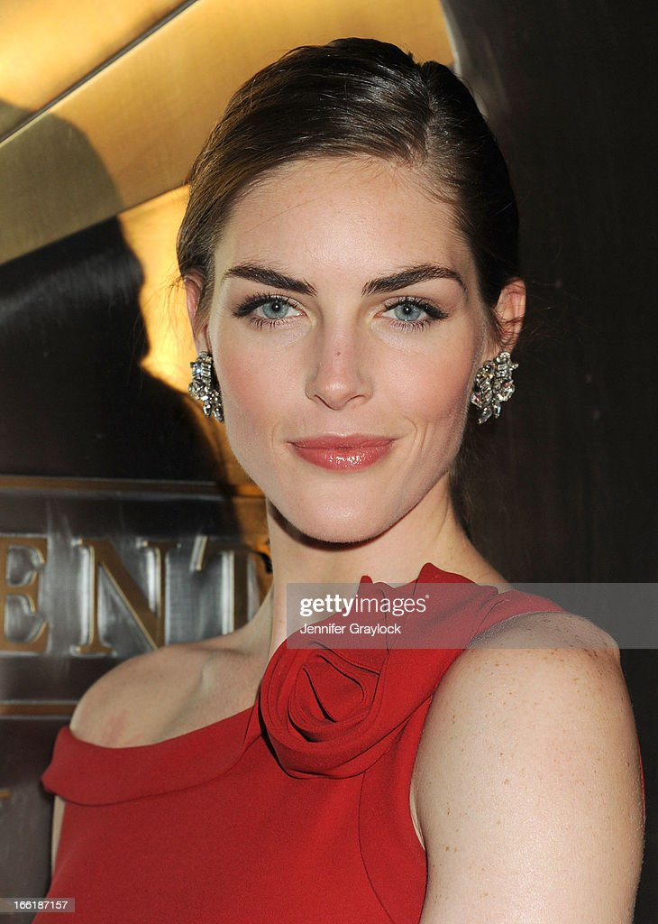 Model Hilary Rhoda wearing Valentino attends the New Yorkers for Children 10th Anniversary Spring Dinner Dance New Year's in April: A Fool's Fete to benefit youth in foster care presented by Valentino at Mandarin Oriental Hotel on April 9, 2013 in New York City.