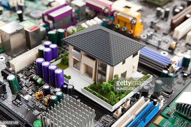 IT model house