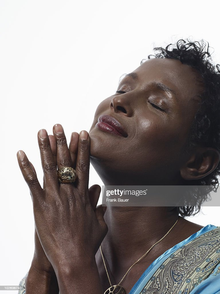 Model & human rights activist <a gi-track='captionPersonalityLinkClicked' href=/galleries/search?phrase=Waris+Dirie&family=editorial&specificpeople=2366489 ng-click='$event.stopPropagation()'>Waris Dirie</a> poses for a portrait shoot in Munich on June 30, 2009.