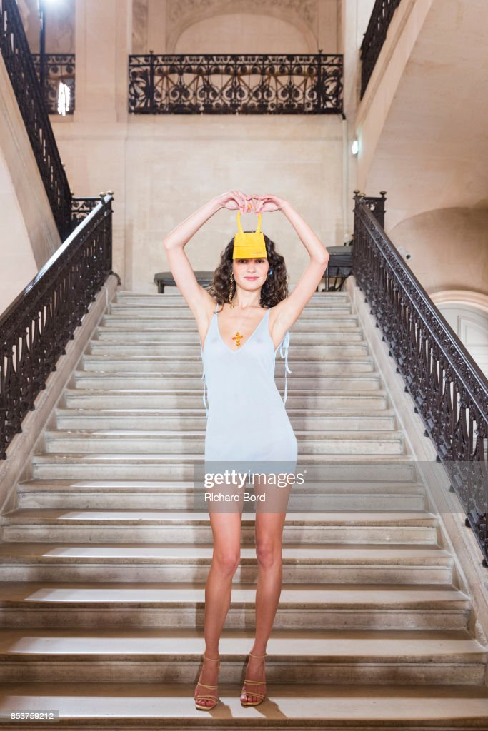 model-iana-godnia-poses-on-the-runway-during-the-jacquemus-show-at-picture-id853759212