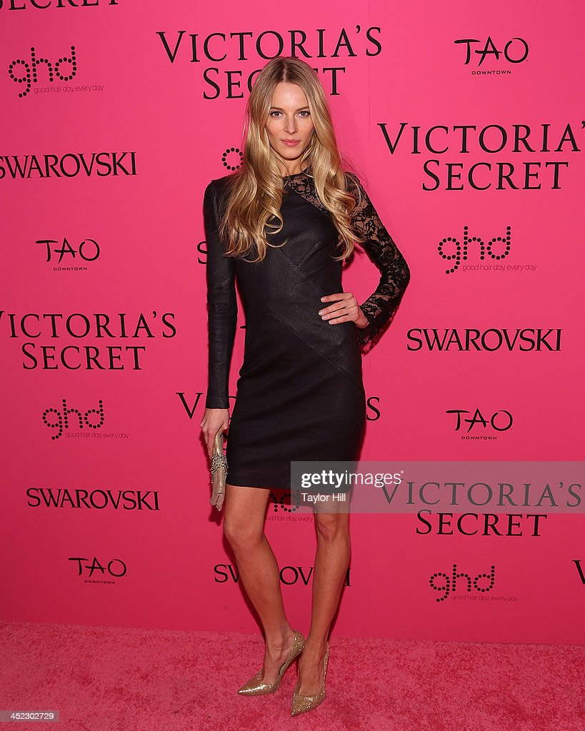 Model Ieva Laguna attends he after party for the 2013 Victoria's Secret Fashion Show at Lavo NYC on November 13, 2013 in New York City.